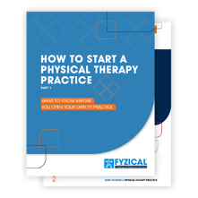 How to Start PT Practice steps 1 2 3 - document fan