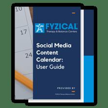 social media content calendar user guide - document fans