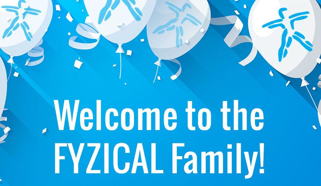 FYZICAL Welcomes 13 New Members!